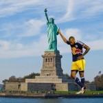 Henrying : statue de la liberté