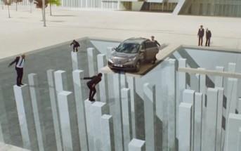 Le nouveau Honda CR-V joue avec les illusions d'optique [Pub 2013]