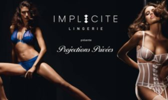 Projections privées Implicite lingerie pub sexy