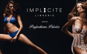 Projections privées Implicite lingerie : une campagne publicitaire sexy