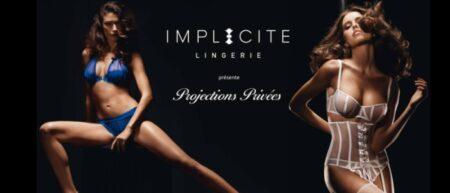 Projections privées Implicite lingerie pub sexy