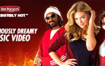 Kate Upton et Snoop Dogg réunis dans un clip Hot Pockets [Pub]