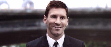 Lionel Messi est le développeur dans la pub musicale samsung galxy note 3 + gear