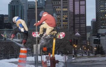 Snowboard dans la ville de Montreal - O'Neill Ridemore