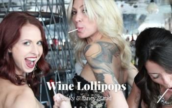 wine lillipops : sucettes au vin
