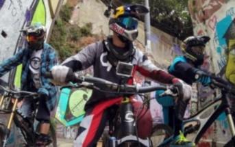 VTT : les rues de Valparaiso au Chili filmées en GoPro par 3 riders