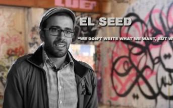 Calligraffitis : le tunisien eL Seed mêle calligraphie et graffiti