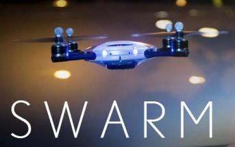 Un essaim de drones réalisé sans effets spéciaux [Pub Lexus Swarm]