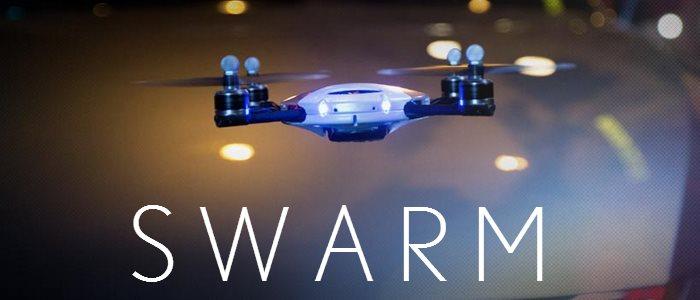 Pub Lexus drone: swarm, amazing in motion video