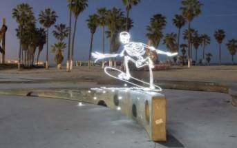Light Goes On : skateboard + breakdance + light painting + stop motion