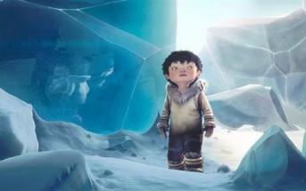 Tuurngait : compte inuit avec petit garçon et un oiseau [animation]
