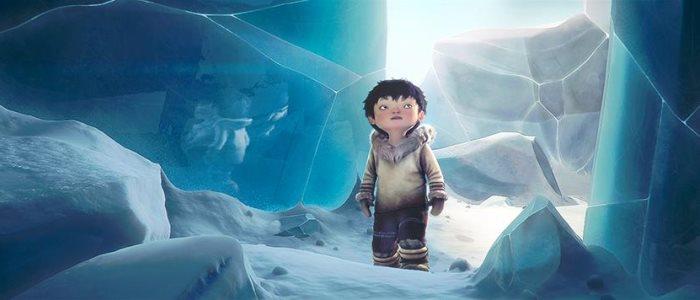 Turngait court-métrage d'animation avec un enfant inuit et un oiseau