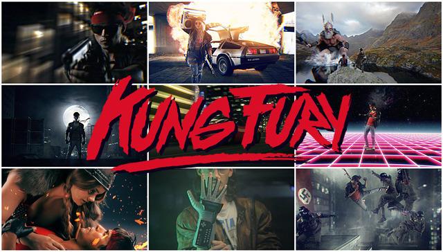 Kung Fury : le film d'action 2014 qui parodie les annees 80 - comédie