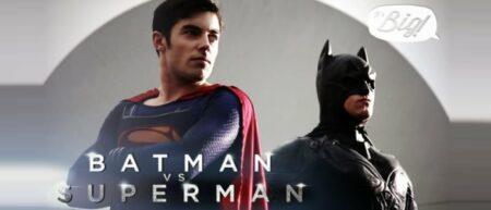 batman vs superman, les superhéros gays par It's Big