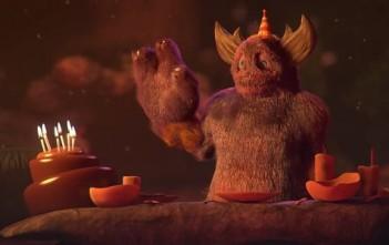 Big game : le monstre qui fête son anniversaire seul - animation