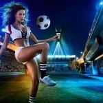 calendrier footballeuse sexy coupe du monde 2014 : angleterre