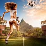 calendrier footballeuse sexy coupe du monde 2014 : belgique