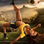 calendrier footballeuse sexy coupe du monde 2014 : bresil