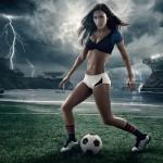 calendrier footballeuse sexy coupe du monde 2014 : etats-unis