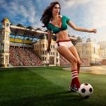 calendrier footballeuse sexy coupe du monde 2014 : mexique