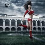 calendrier footballeuse sexy coupe du monde 2014 : suisse