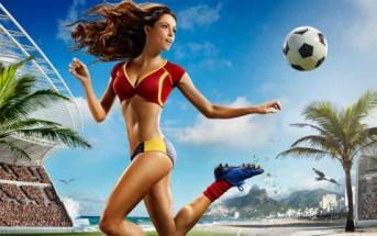 Le calendrier des footballeuses sexy pour la coupe du monde 2014