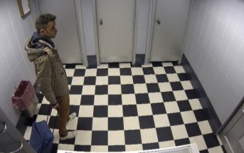 Caméra cachée : des voyageurs piégés dans les toilettes d'un aéroport