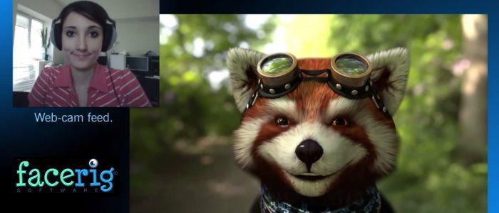 facerig : votre avatar virtuel controlé via une webcam