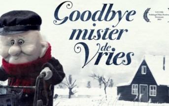 Goodbye Mister de Vries : court-métrage émouvant en stop motion