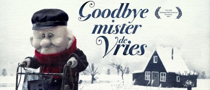 Goodbye Mister de Vries : court-métrage stop motion viel homme patinage artistique