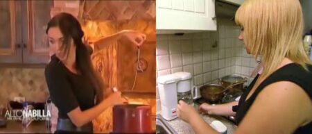 Joyce la blonde fait du café VS Nabilla cuisine des pâtes
