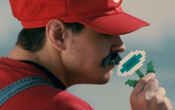 Quand Mario se fait voler ses power-up par Lara Croft et Master Chief