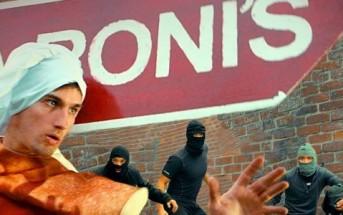 Papa Roni's Ninja : le super héro du panneau publicitaire !
