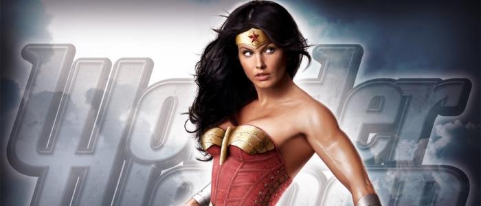 wonder woman, une des super-heroines sexy en photomanipulation de jeff chapman