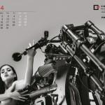 Confederate_calendrier_sexy_moto_2014_08_juillet
