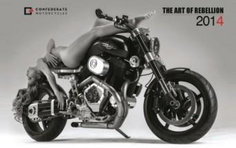 Un calendrier 2014 sexy avec des filles nues sur des motos