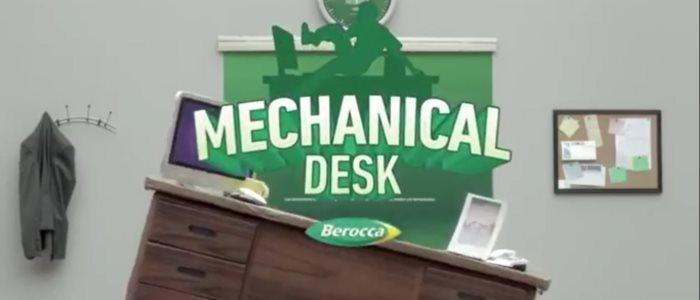 Mechanical desk : le rodéo du bureau contre le stress