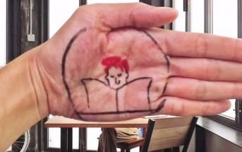 Catch : animation stop motion réalisée avec des google glass