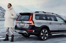 Zlatan joue les chasseurs de cerf dans la pub Volvo XC70 Suède