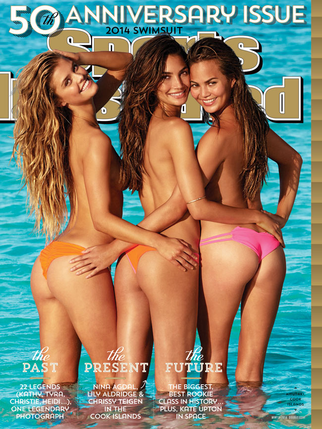 couverture du magazine sports illustrated swimsuit issue 2014