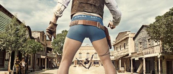 Un duel de western en slip dans la pub athena