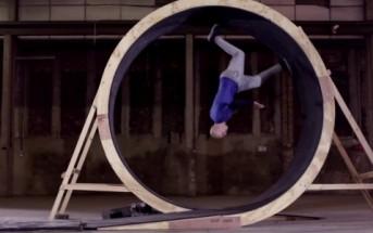 Human Loop : la boucle à 360° du free runner Damien Walters