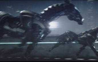 Acura, Beyond the Machine – une pub 3D avec des chevaux de fer