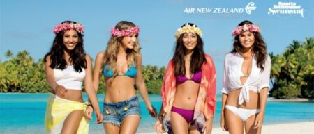 security in paradise air new zeland + sport illustrated swinsuit