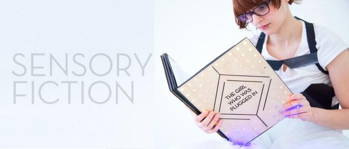 sensory fiction, une veste de lecture connectée