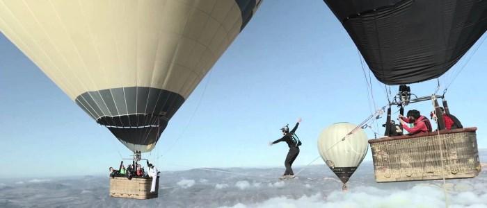 skyliners : funambule montgolfière