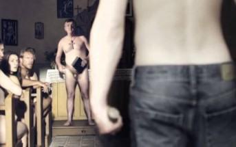 Quand un jean met la pagaille dans un monde nudiste [court-métrage]