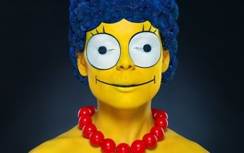 Maquillage : Marge Simpson en réel plus vraie que nature !