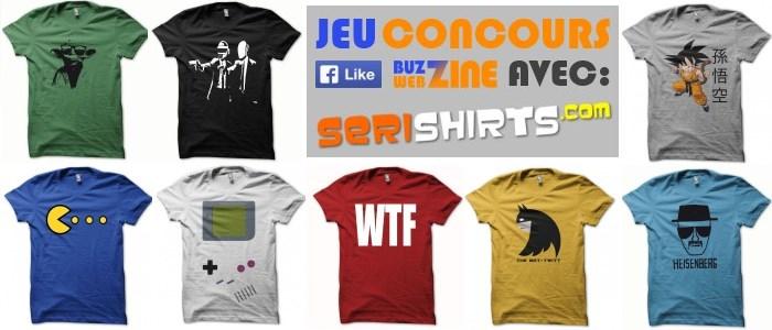 jeu concours likez buzzwebzine et gagnez un tshirt. Black Bedroom Furniture Sets. Home Design Ideas