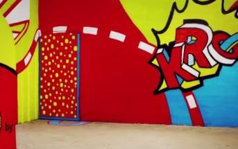 Pub K by Kronenbourg : bière, illusion, street art et stop motion